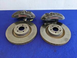 2015 2020 Ford Mustang Gt Ecoboost 6 Piston Brembo Brake Caliper Rotor Set Oem