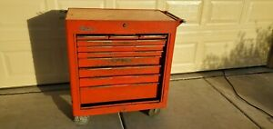 Vintage Snap On Rolling Tool Box Cabinet Kra 300b Rolla Bench 1967 Rare