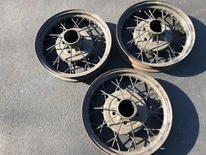 1930 1931 Ford Model A Oem 19 Inch Wheel Rims Nice Condition