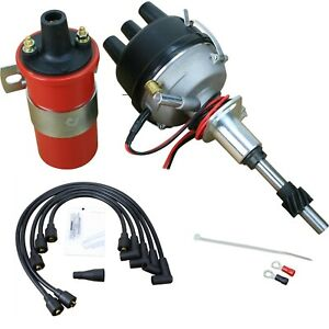Electronic 8n12127b Side Mount Ignition Distributor Coil Ford 2n 8n 9n Tractor