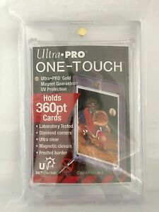2 pack Ultra Pro 360pt One touch Magnetic Card Holder In Hand