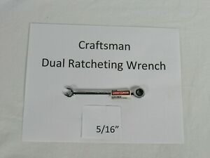 Craftsman Dual Ratcheting Combination Wrench Sae