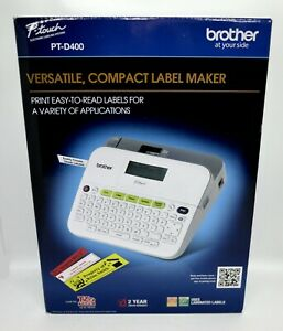 Brother P touch Labeling System Label Printer pt d400 brand New In Retail Box