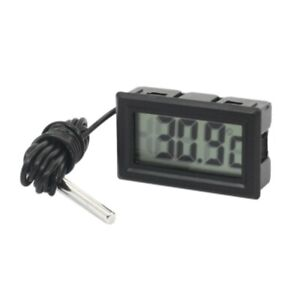 Waterproof Temperature Mini Digital Thermometer Most Parts 50 To 70 Celsius