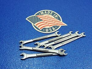 1 Classic Craftsman Metric 7mm X 9mm Open End Wrench P N 44503 Vv Forge Lot