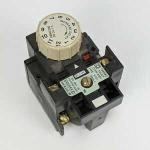 Square D 8501xtd1 Timing Relay 1s To 60s Delay Range Series A Usa