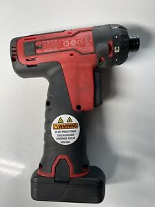 Snap On 14 4v 1 4 Screw Gun Cts761a Includes 1 Battery