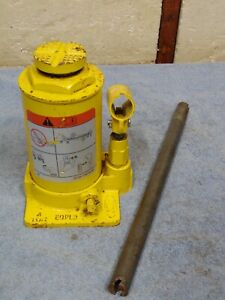 Oem Ford Truck 4 Ton Yellow Bottle Jack 10 Stroke