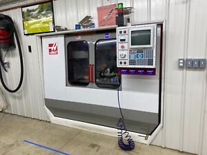 Haas Vf 2 Rigid Tapping Chip Conveyor Programmable Coolant