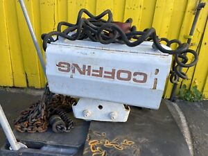 Coffing 2 Ton Electric Hoist winch Local Pickup Only
