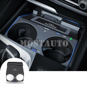 For Bmw 5 6 Series G30 G31 G32 Wireless Car Charger Phone Charging Plug And Play