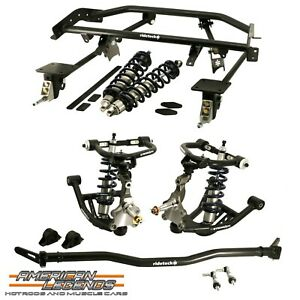 Ridetech 1967 1968 1969 Chevy Complete Coilover Suspension System 11160201