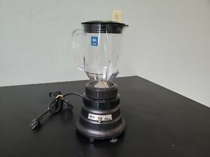 Waring Commercial Bar Blender 1 2 Hp 48 oz 2 Speed Bb150 Black
