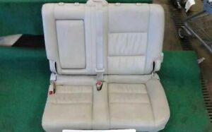 2004 Toyota Land Cruiser Left Rear Driver Seat Tan Leather see Notes 804520