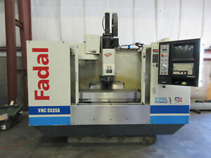 Fadal 5020 Vertical Machining Center 10 000 Rpm 4th Axis Pre wired video Below