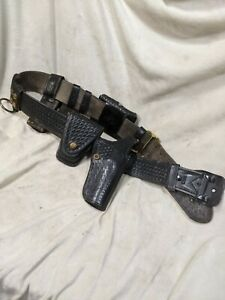 Police Duty Belt Holster Tex Shoemaker Sons Safety Speed Holster Baton Others