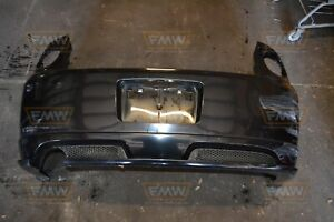 Cobalt Ss Coupe Turbo Supercharged Black Rear Bumper W Lip 05 10 06 07 09
