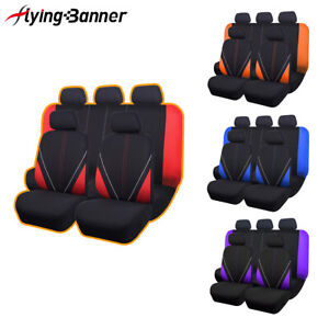 Car Seat Covers Universal Set Protector Rear Split 40 60 50 50 Airbag Compatible