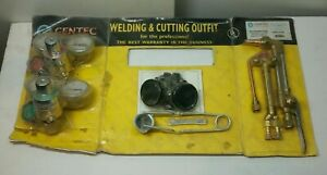 Gentec Gka50 tccvsp Oxy acetylene Light Duty Welding Cutting Heating Outfit