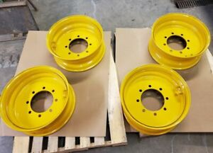 22 5 Wheels Custom Made For Cat John Deere Wheel Loaders Semi Tires