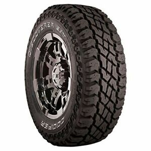 Set Of 4 Cooper Discoverer S t Maxx All terrain Tires Lt285 70r17 Lre 10ply