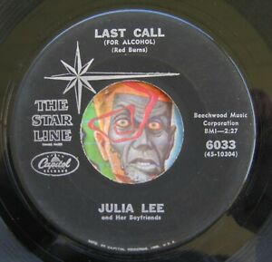 HEAR Julia Lee 45 Snatch And Grab It Last Call For Alcohol Early blues Ramp;B jazz $6.99