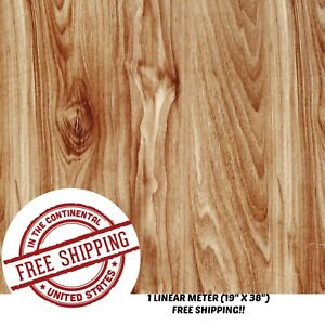 Hydrographic Water Transfer Hydro Dipping Dip Film Wood Grain D 1m 19 x38