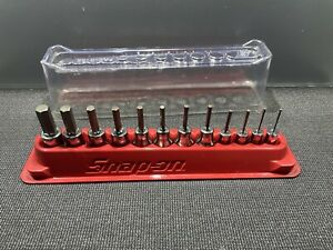 Nice Snap On 1 4 3 8 12 Piece Hex Socket Set 212eftay