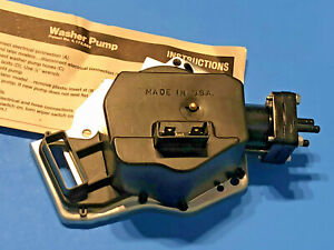 69 70 71 Oldsmobile 442 Windshield Washer Pump With Concealed Wipers Made In Usa