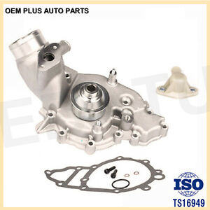 Water Pump For 83 87 Porsche 924s 944 Base Turbo 944 S Metal Pulley Vin A B 2 5l