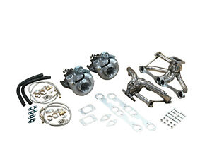 Wg Sbc For Chevy 1000hp Twin Turbo Kit 262 400 350 305 5 0 5 7 Hot Parts