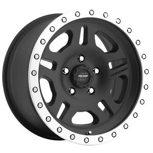 Pro Comp Alloy 5129 78573 Xtreme Alloys Series 5129 In Black Finish Universal