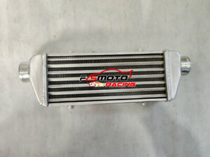 18 X 6 X 2 Fmic Universal Aluminum Turbo Intercooler 2 25 In outlet