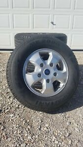 Set Of 4 Ford Transit 350 T350 Oem Wheels And 16 Tires 235 65r 16c