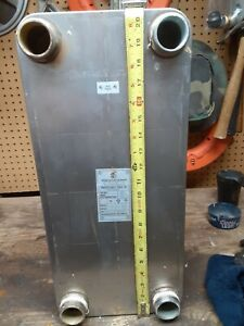 Aic Brazed Plate Heat Exchanger Lc110 30x 36 Sq Ft 1 1 2 Mpt Solar Brewing