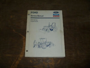 Ford New Holland 702c 780 Blades 715 Snow Blowers Shop Service Repair Manual