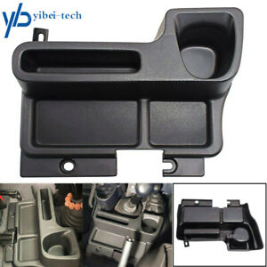Black Storage Tray Insert Center Console Box For Toyota Land Cruiser Lc70 71 Lc7