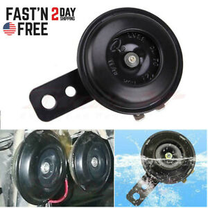 12v Waterproof Loud 105db Universal Motorcycle Car Atv Scooter Snail Auto Horn