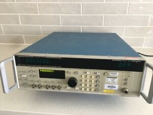Used Gigatronics 6100 2 8 Synthesized Signal Generator 8ghz Good Condition