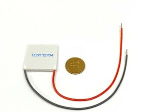 Tes1 12704 12v Thermoelectric Cooler Cooling Peltier Plate Module 30 X 30mm B20