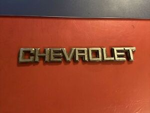 Chevrolet El Camino Monte Carlo Emblem Badge Symbol Logo Sign Metal 1987