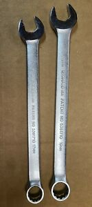 17mm 19mm Proto Professional Combination Wrenches 1217m 1219m Made In Usa