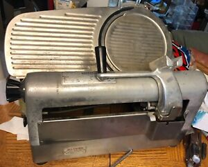 Hobart 1712 Commercial Automatic Deli Meat Slicer Motor Works carriage Missing