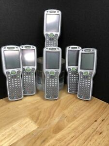 Lot Of 6 Honeywell Handheld Products Pocket Pcs For Parts Jhb2