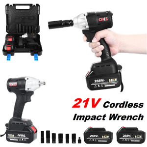 3 8 Cordless Ratchet Wrench 12v Electric Right Angle Wrench With 3 Batteries
