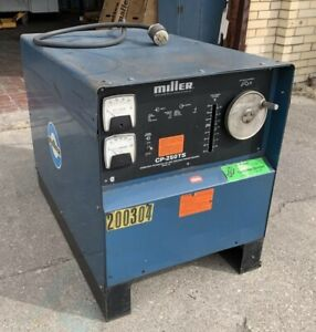 Miller Cp 250ts Constant Potential Dc Arc Welder tested warranty