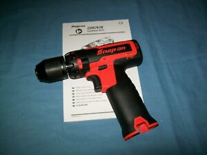 New Snap On Lithium Ion Cdr761bodb 14 4 V Brushless Drill Driver Tool Only