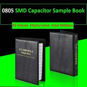0805 Smd Capacitor Sample Book Component Assortment Kits 92 Values Each 50pcs