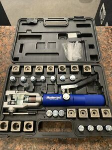 Mastercool 72475 Universal Hydraulic Flaring Tool Set With Tube Cutter P22