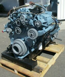 Complete Detroit Diesel Series 50 Engine With Zf Transmission Ready To Go